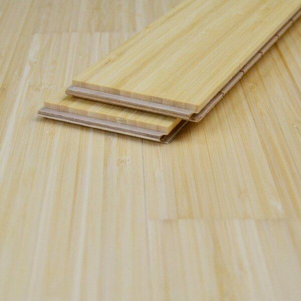 Muster zu Artikel #167406 Einzelstabparkett Antras Bambus hell vertikal lackiert Nut/Feder 10 mm Mix