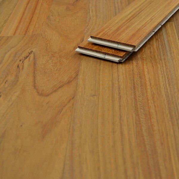 Muster zu Artikel #167404 Einzelstabparkett Laon Doussie lackiert Nut/Feder 11 mm Mix