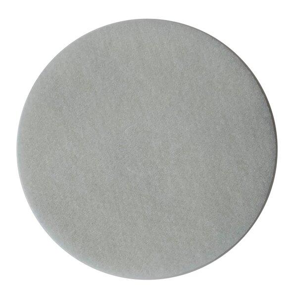 Normalpad Ø406mm 10mm stark, weiß