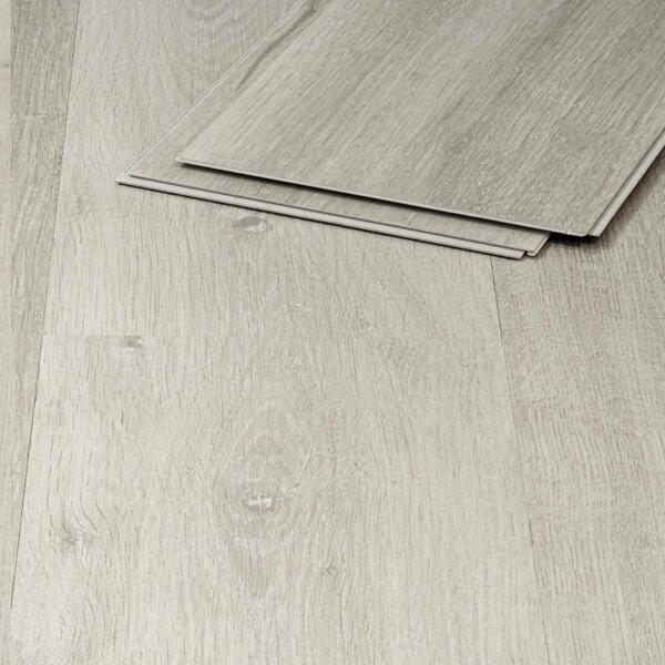 Vinylboden weiß mit Trittschalldämmung