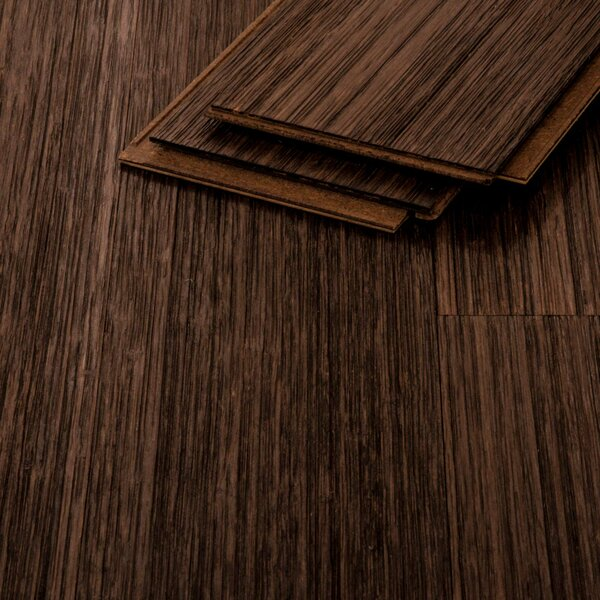Bambusparkett Marapi Bambus dunkelbraun gebürstet matt lackiert Klicksystem Boo2Go