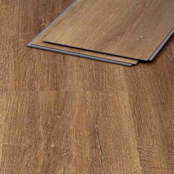 Muster zu Artikel #295350 Vinylboden Andros Eiche 410 braun