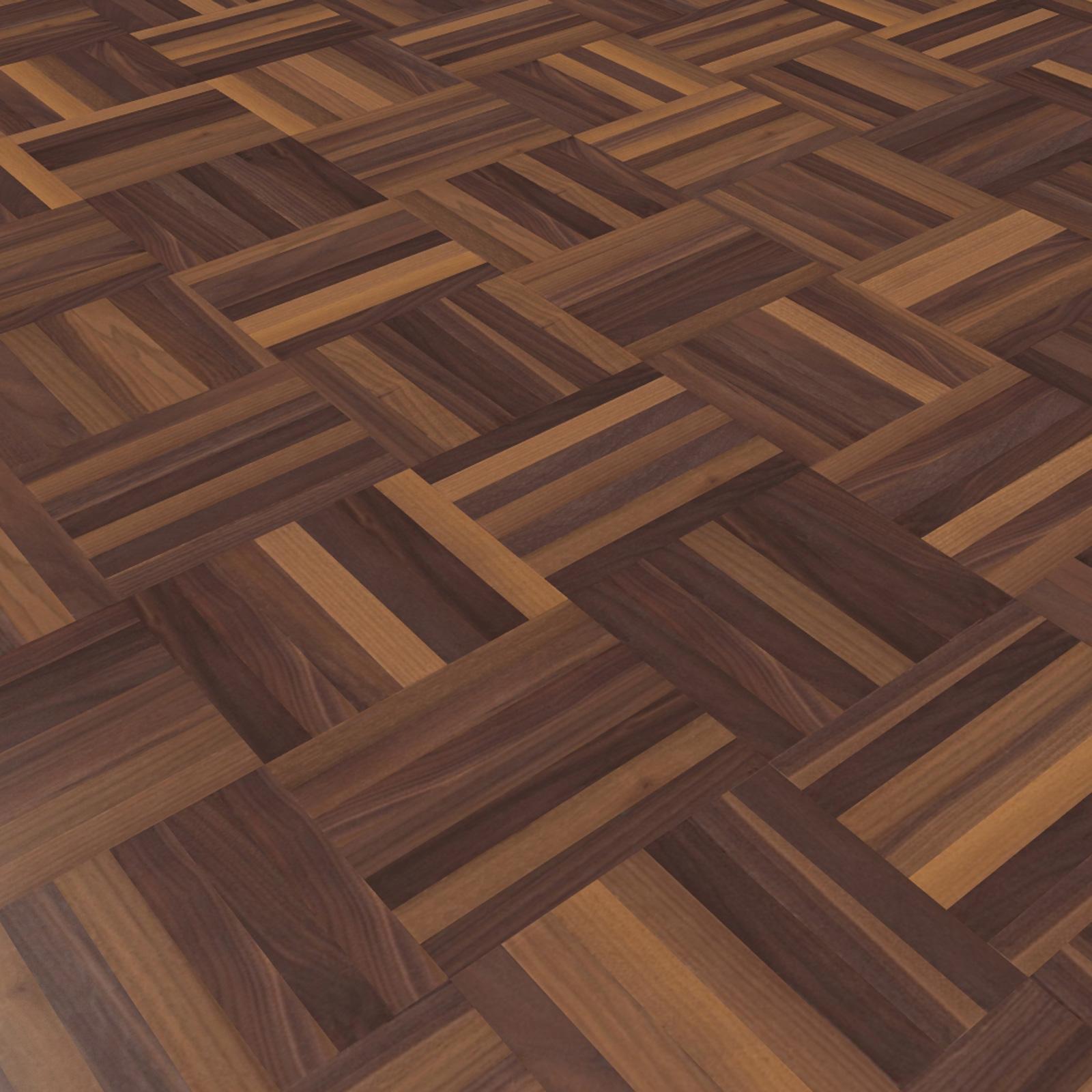 nussbaum w rfelparkett online kaufen parkett direkt. Black Bedroom Furniture Sets. Home Design Ideas