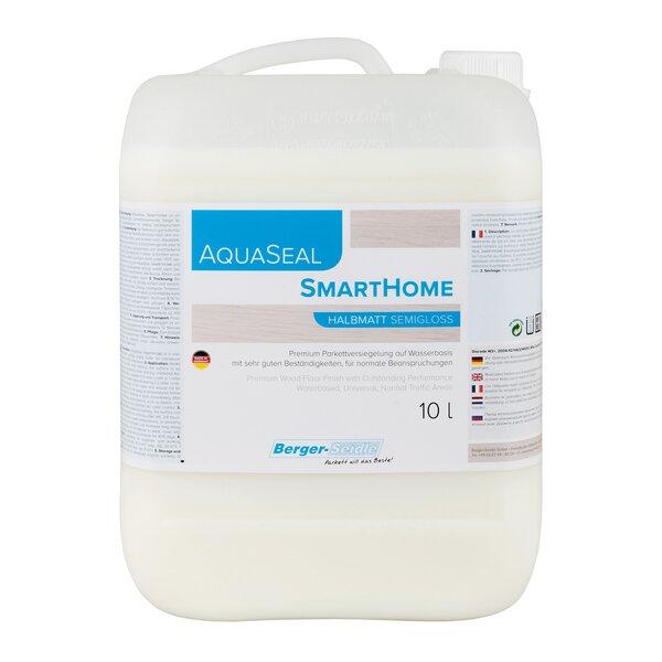 AquaSeal SmartHome 1K Parkettlack halbmatt 10 Liter