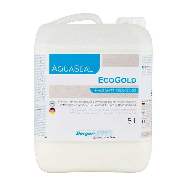 Berger-Seidle AquaSeal EcoGold 1K Parkettlack halbmatt - 5 Liter