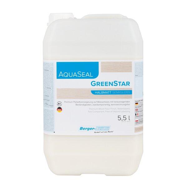 Berger-Seidle AquaSeal GreenStar 2K Parkettlack halbmatt 5,5 Liter