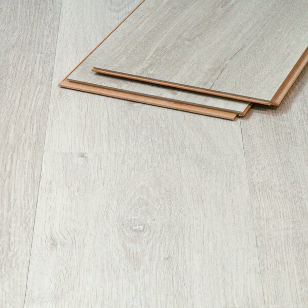 Muster zu Artikel #295366 Vinylboden Samos Eiche 508 weiß Klicksystem 8,3mm HDF-Trägerplatte TAMI Life