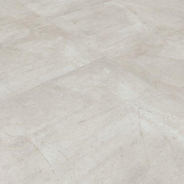 Vinylboden Beton Weiß