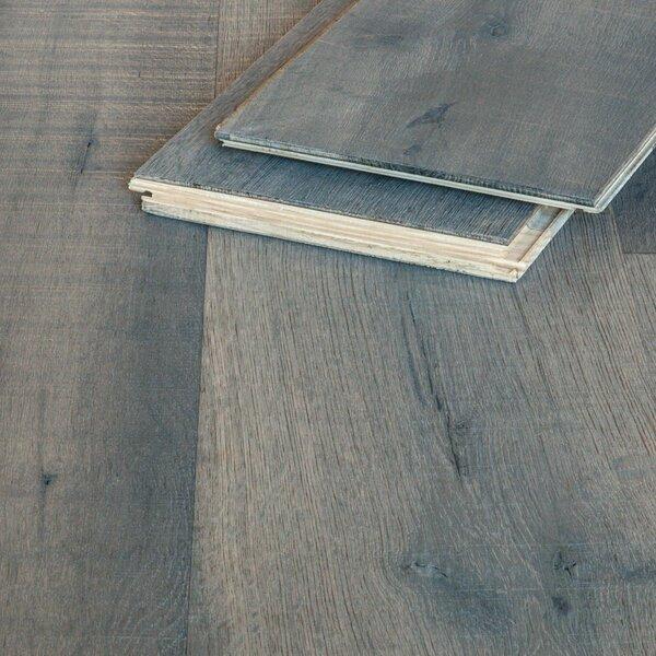 Muster zu Artikel #162324 Parkett Landhausdiele Eiche Idana gebürstet weiß hartwachsgeölt Rustik