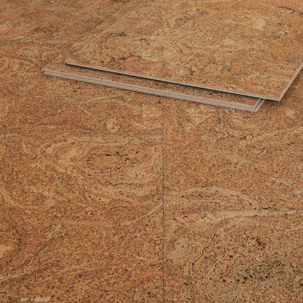 Muster zu Artikel #287029 Korkboden Atacama grob strukturiert HotCoating Klicksystem 10,2mm CorCasa