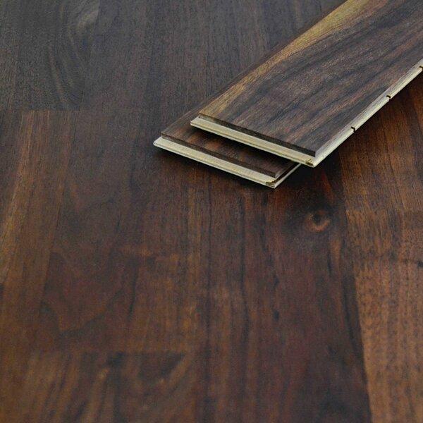 Einzelstabparkett Saman Nussbaum amerikanisch geölt Nut/Feder 10mm Struktur