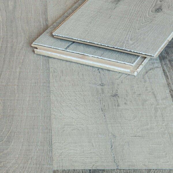 Landhausdiele Eiche gebürstet grau