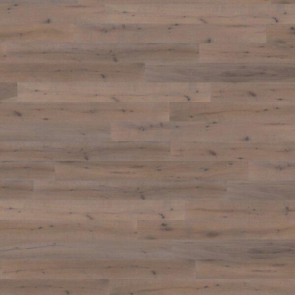 Parkett Landausdiele Modena Eiche gebürstet geräuchert steingrau geölt Rustik