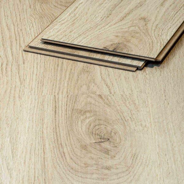 Muster zu Artikel #295352 Vinylboden Algarve Eiche 501 hellbraun Klicksystem 8,3mm HDF-Trägerplatte TAMI Life