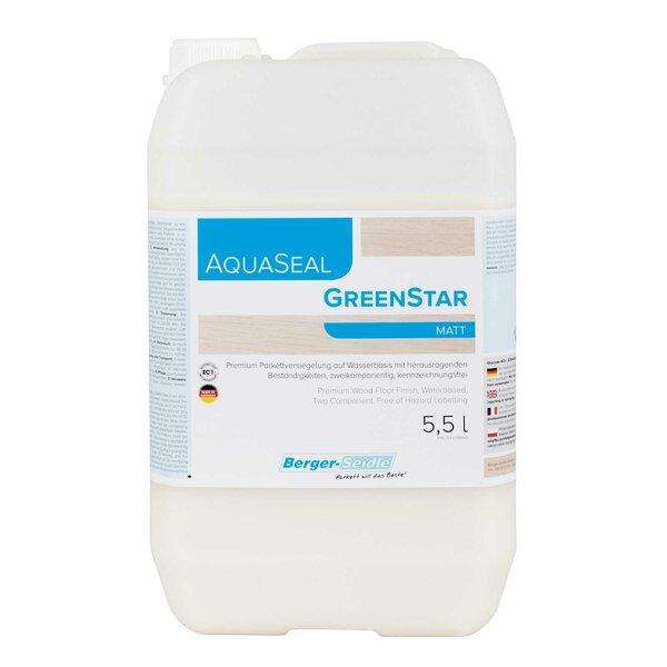Berger-Seidle AquaSeal GreenStar 2K Parkettlack matt 5,5 Liter
