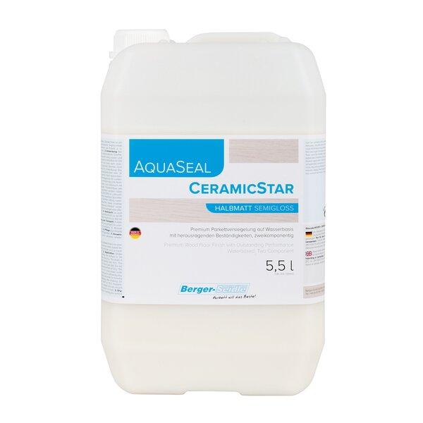 AquaSeal CeramicStar 2K Parkettlack halbmatt