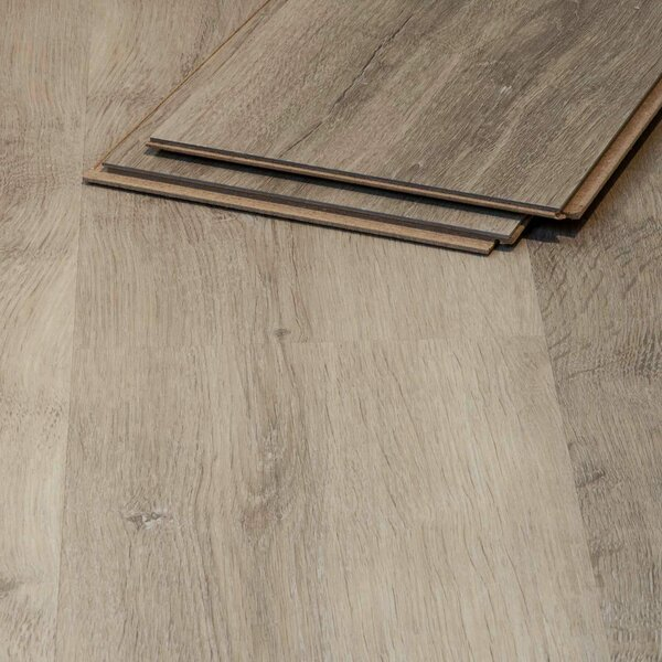 Muster zu Artikel #295368 Vinylboden Cres Eiche 509 grau-braun Klicksystem 8,3mm HDF-Trägerplatte TAMI Life